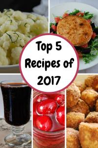 Top Five Recipes of 2017