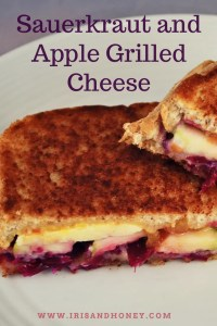 Sauerkraut and Apple Grilled Cheese