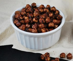 Spiced Cocoa Chickpeas