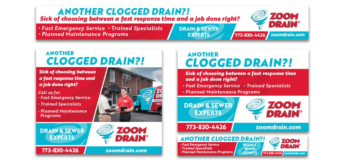 Digital Ads for Zoom Drain