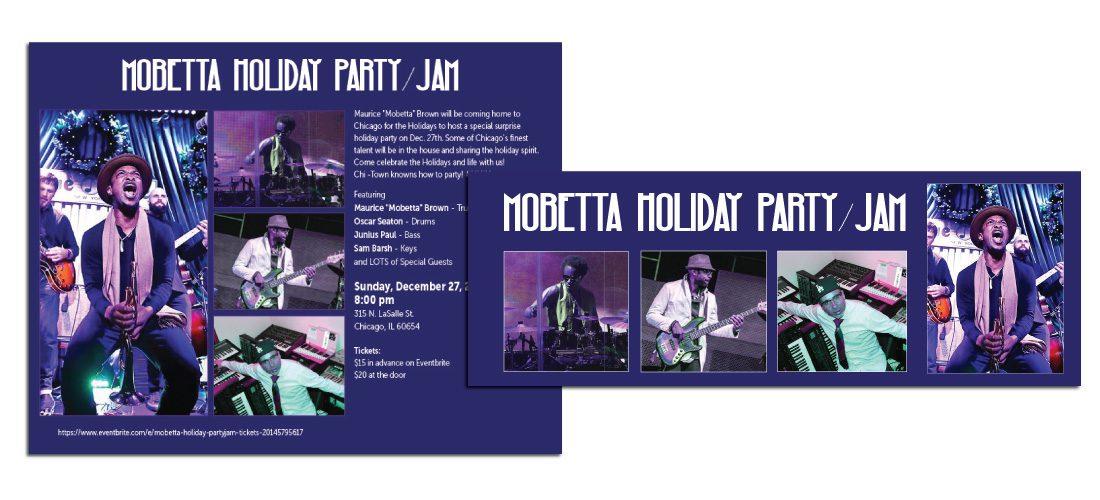 Mobetta Holiday Jam Digital Graphics