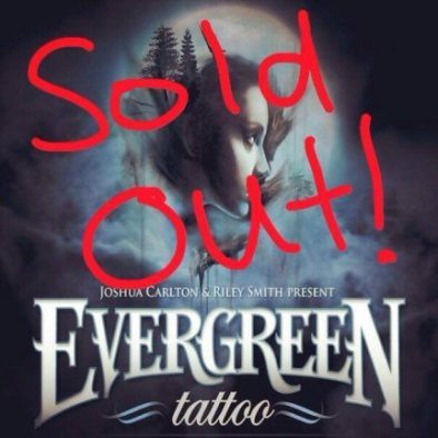 Personal Appearances : Evergreen Tattoo Sold Out Poster, 2015