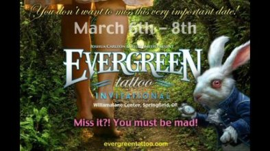 Personal Appearances : Evergreen Tattooo Invitational 2015