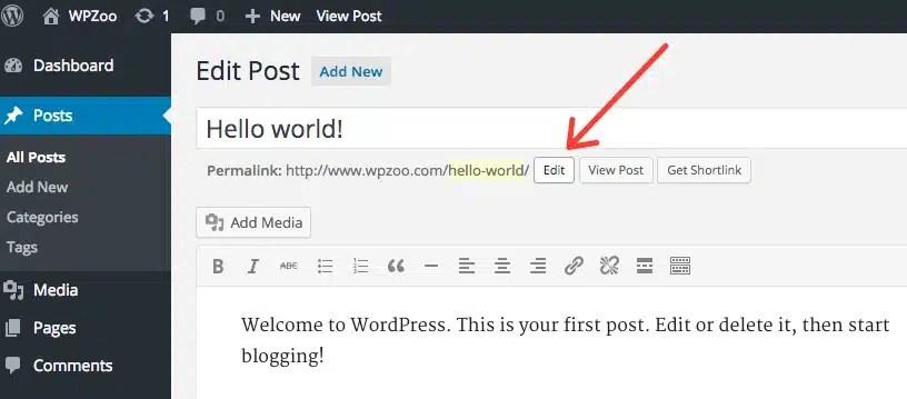 Come cambiare i permalink con WordPress