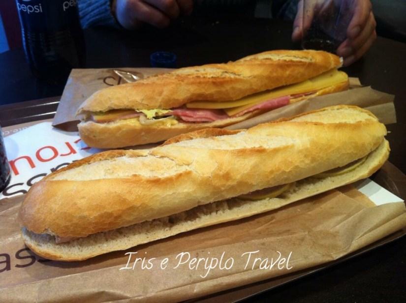 panino con foie gras, cosa mangiare a Parigi