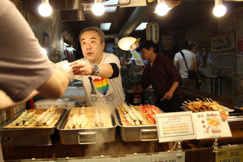 Mercato di Kyoto nishiki market