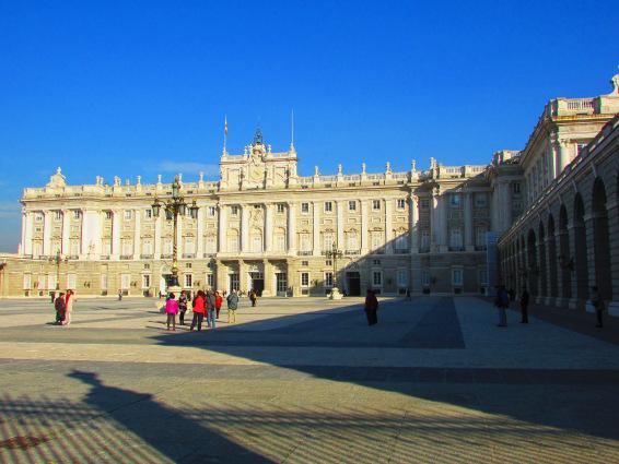 Palazzo real Madrid