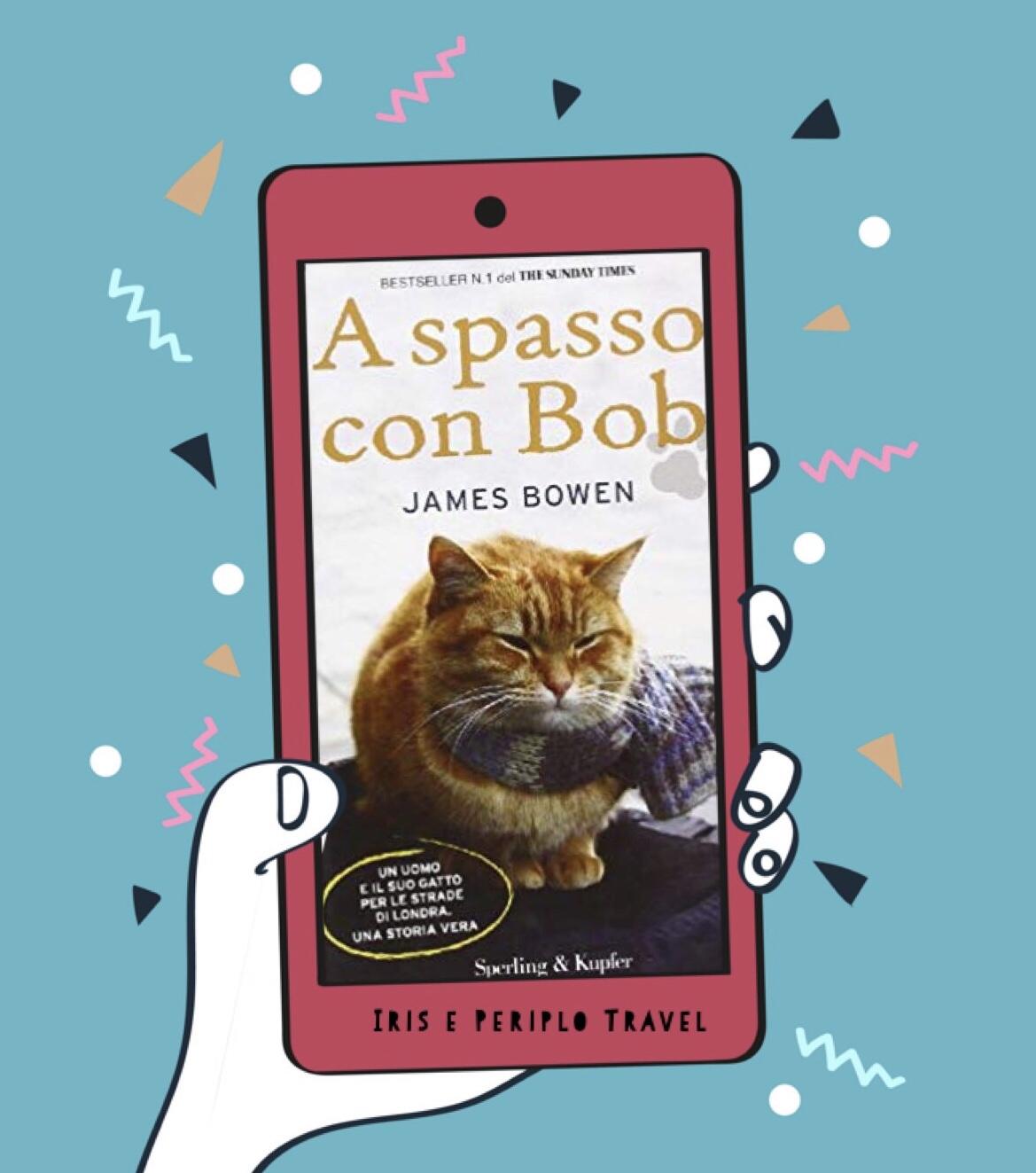 Copertina del libro A spasso con Bob