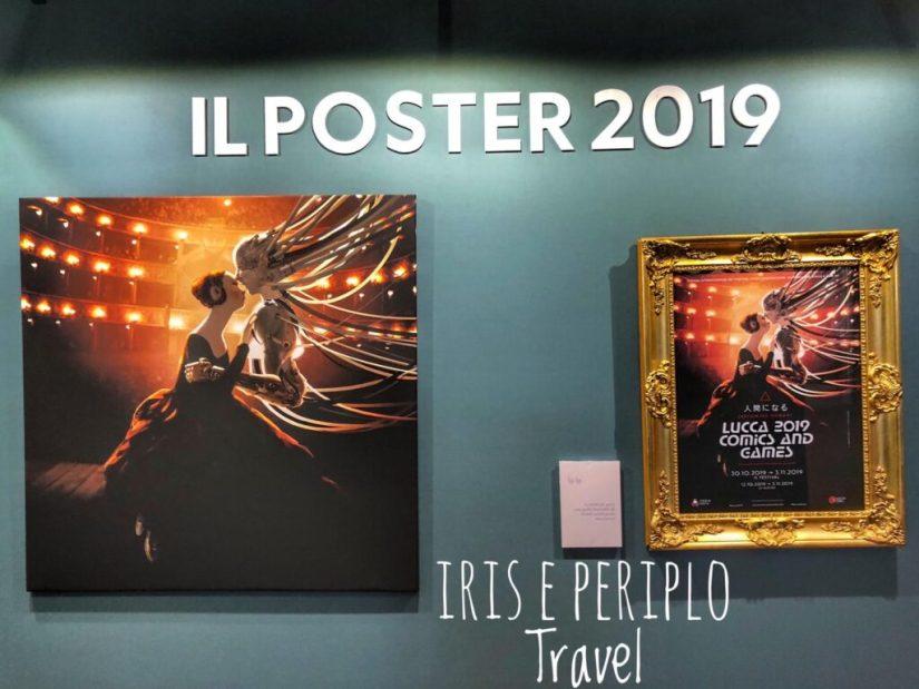 poster del lucca comics & games 2019