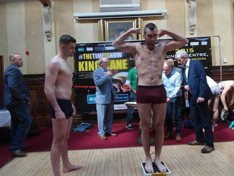 o'kane weigh in 14