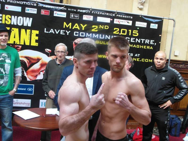 o'kane weigh in 5