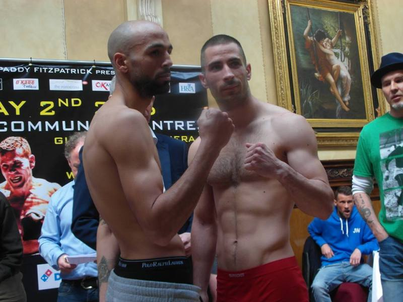o'kane weigh in 8