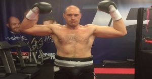 Tyson Fury on May 28th
