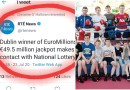 Esker BC not denying 50m EuroMillions Lotto win