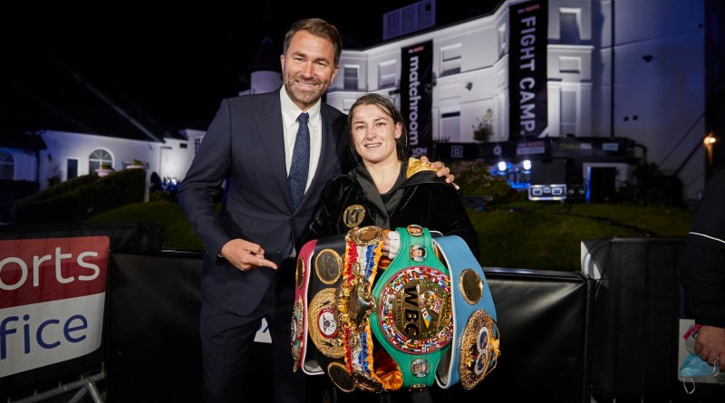 Katie Taylor becomes leading name on DAZN platform after record-breaking deal