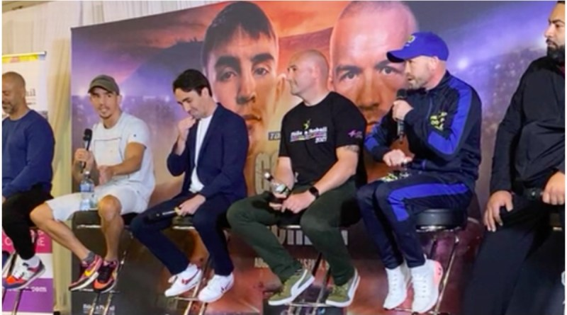 Weight Issue- Conlan and Doheny Disagree Over Weight Limit in Fiery Final Press Conference
