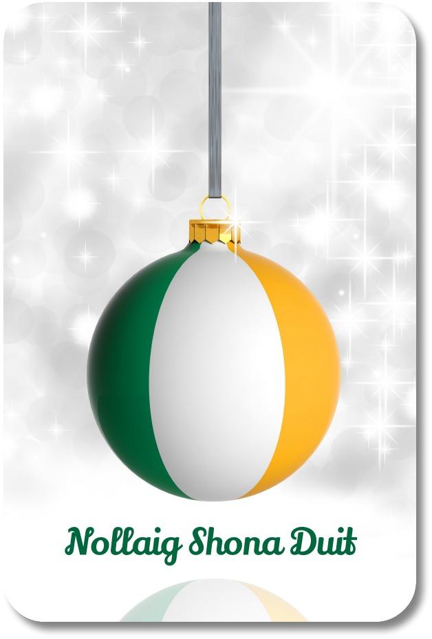 Irish Christmas Sayings Use The Irish Gift O The Gab To