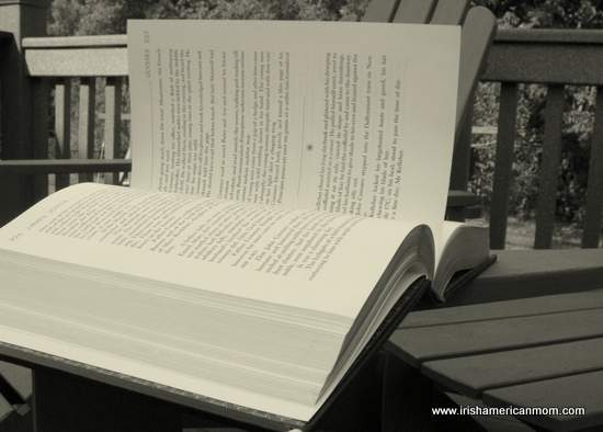 An open book - Ulysses