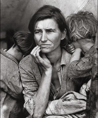 Florence Henderson - image of the Great Depression