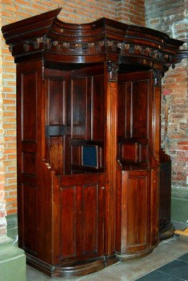 Italian Confessional Box