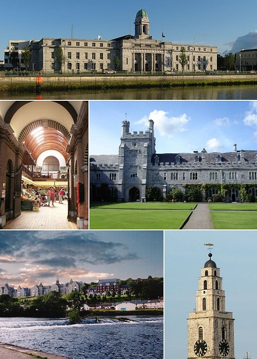 http://commons.wikimedia.org/wiki/File:Cork_City_Montage_Quick_Collage_of_CC_Commons_Cork_Images.jpg