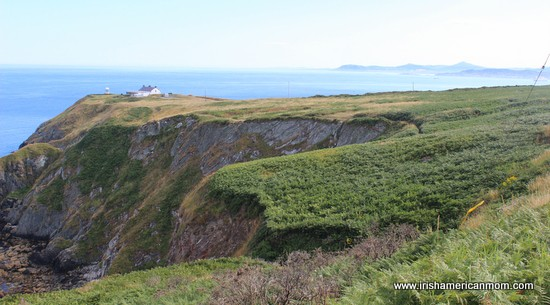 Looking Towards the Bailey Lighthouse Howth