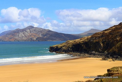 Beautiful beaches of Ireland and Donegal