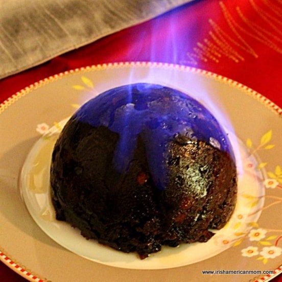 Maturing christmas pudding