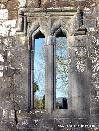 Irish graveyard ruin