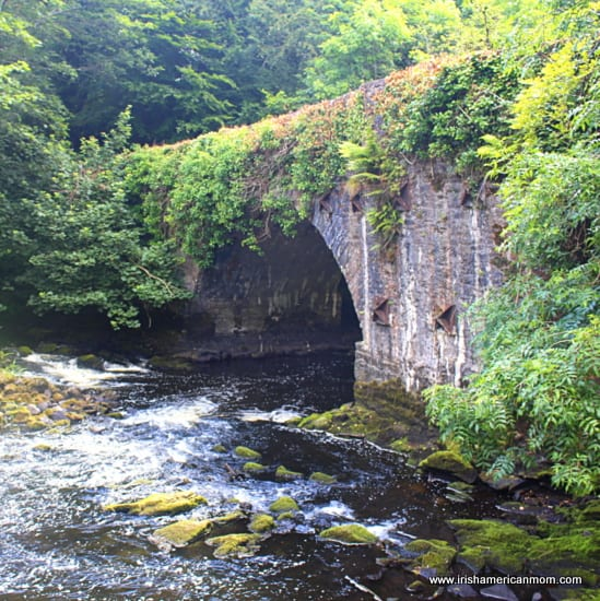 Ramelton, County Donegal, Arched Bridge by Salmon Weir