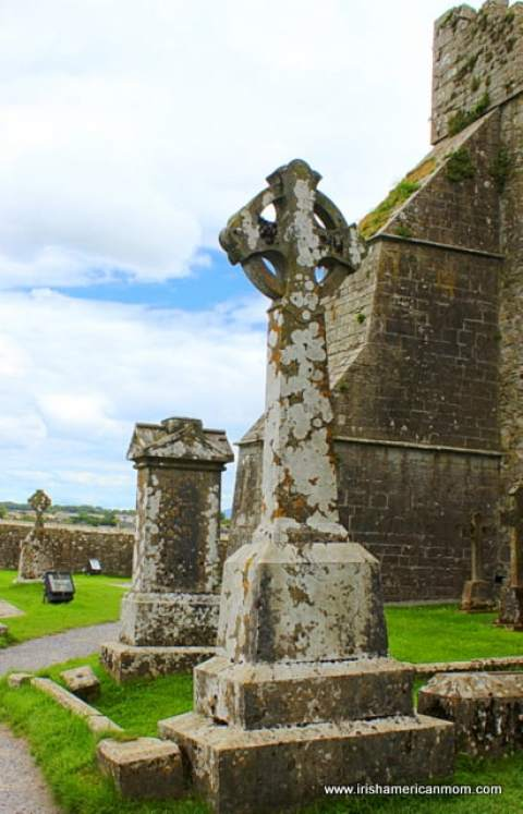 Celtic Cross in Cashel, County Tipperary