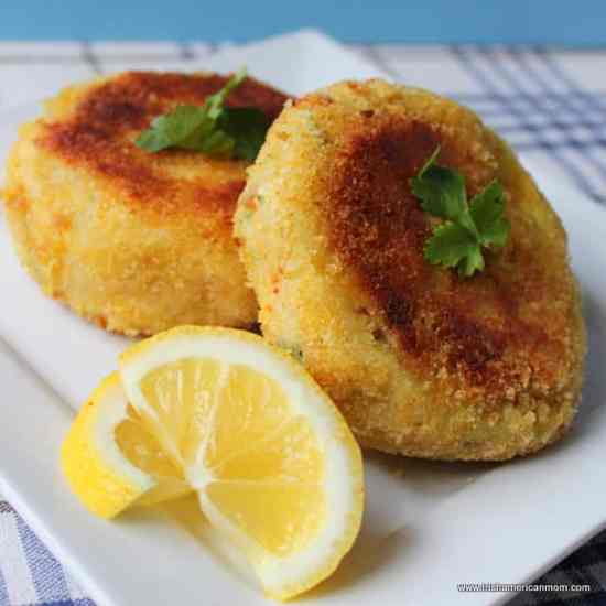 Irish Cod Fish Cakes