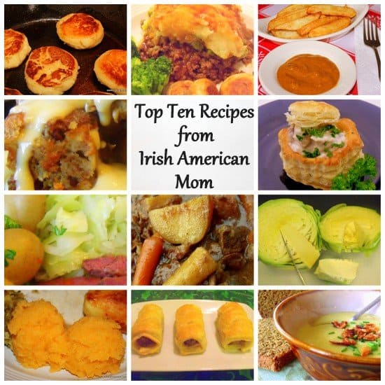 Top Ten Recipes From Irish American Mom