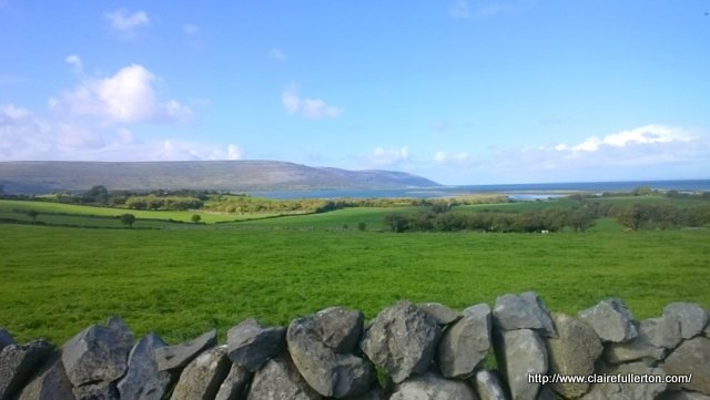 View from a field in Inverin, Galway