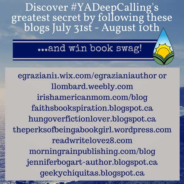 Deep Calling Blog Tour Schedule