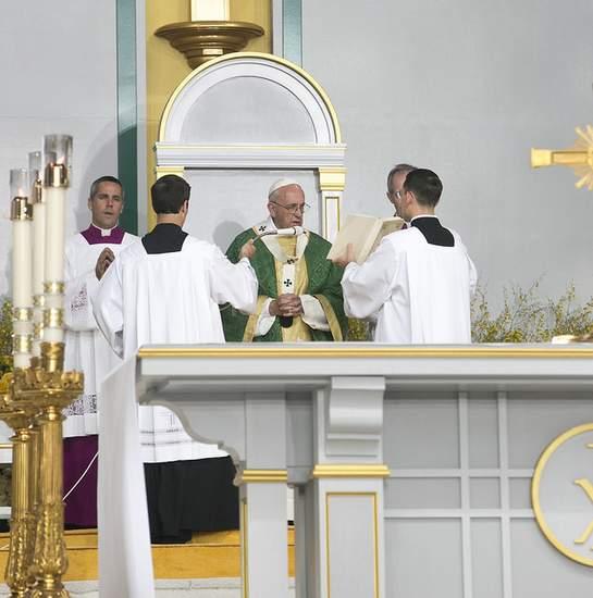 Papal Mass in Philadelphia 2015