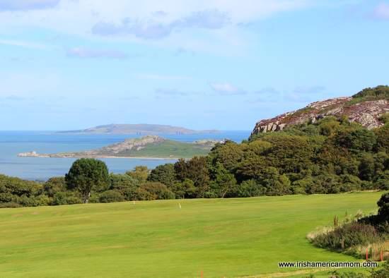 Ireland's Eye and Lambay Island from Howth Hill