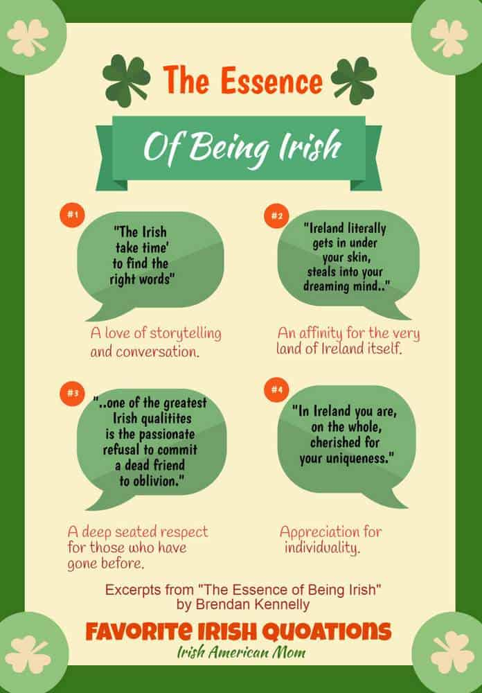 The Essence of Being Irish by Brendan Kennelly