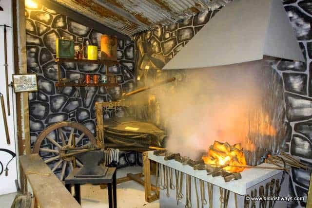 An Old Irish Forge - Old Irish Ways Heritage Museum Limerick Ireland
