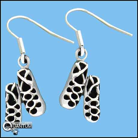 Irish Dance Shoe Earrings