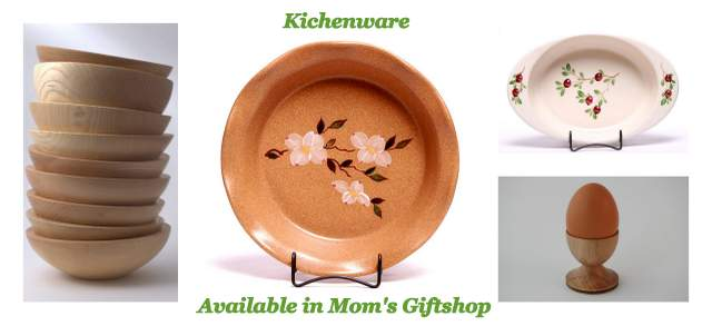 Kitchenware available in Irish American Mom's Giftshop