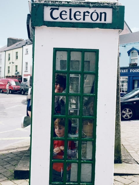 old-irish-phone-box