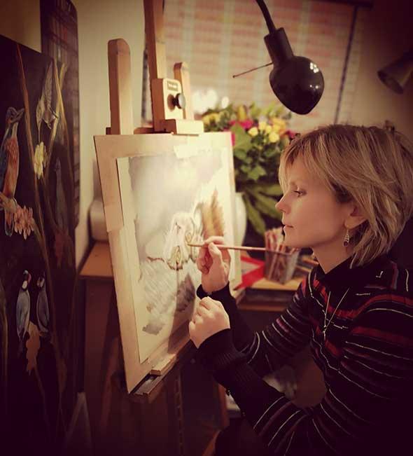 Irina Petrova - Pet Portrait Artist