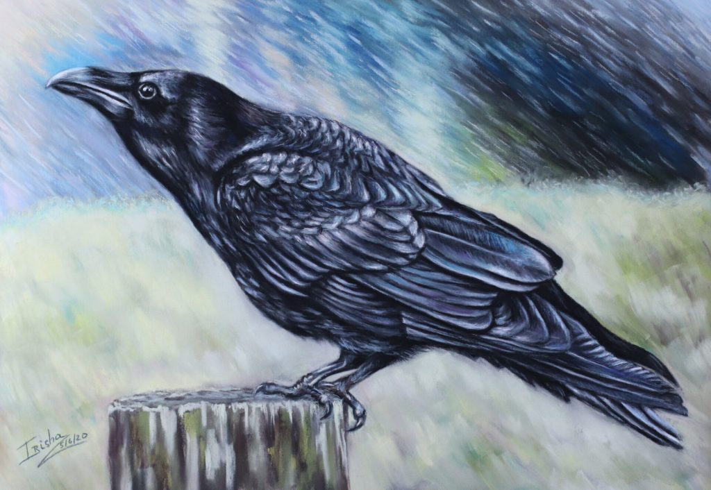 Raven / Crow George Painting