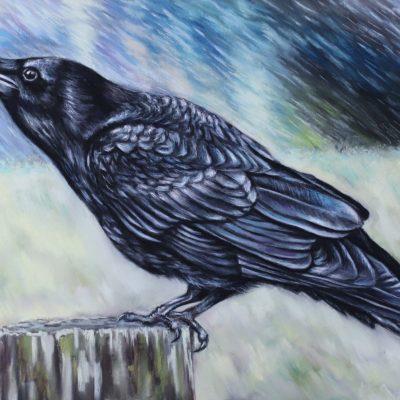 Raven / Crow George Painting