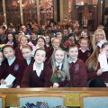 School children taking part in the Laudate Festival last week in Our Lady of Victories Church, Dublin.