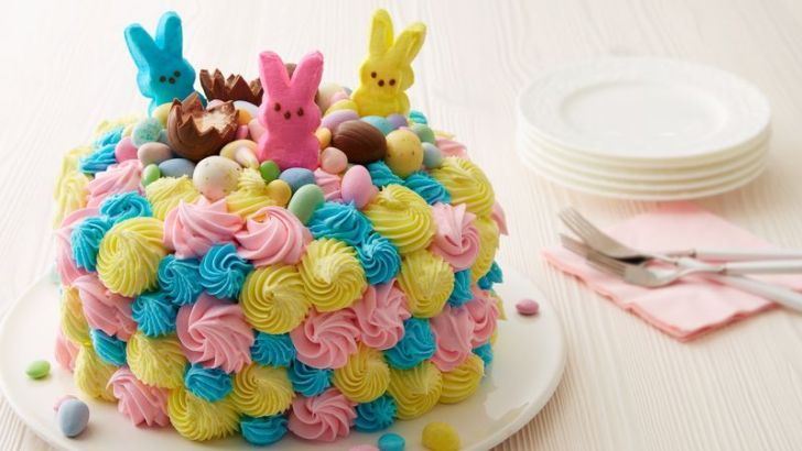 An Easter cake inspired by Resurrection Hill