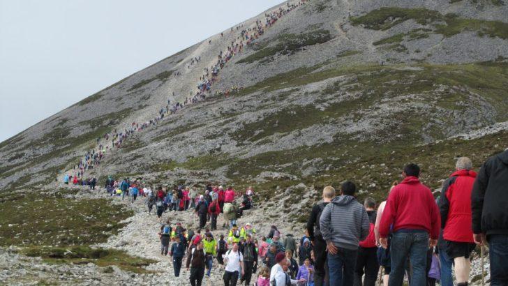 Faithful asked to avoid Croagh Patrick on Reek Sunday