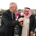 Archbishop Diarmuid Martin chatting with Mahamid Aljali from Syria.