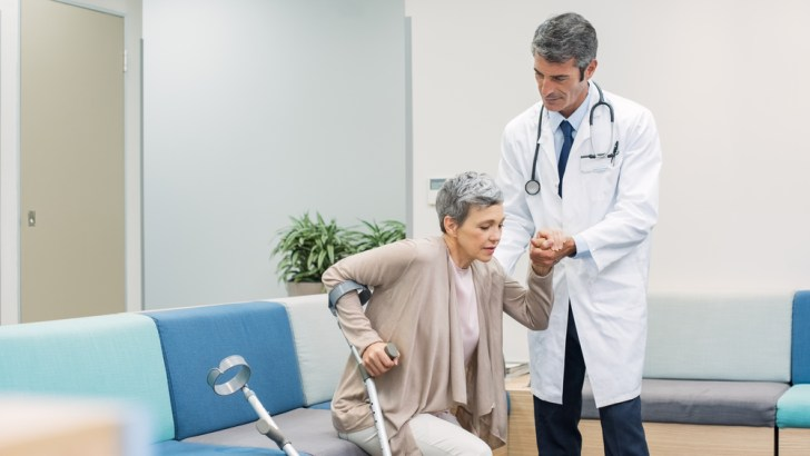 Falls and fractures a major risk for older adults